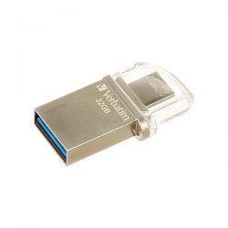 PEN DRIVE VERBATIM MICRO DRIVE OTG 32GB USB 3.0 MICRO USB 49826