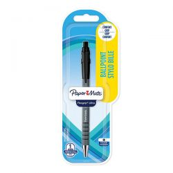 PENNA SFERA PAPER MATE FLEXGRIP SCATTO NERO BLISTER