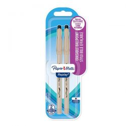 PENNA SFERA PAPER MATE REPLAY NERO BLISTER 2