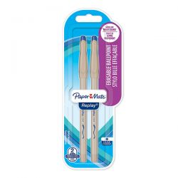 PENNA SFERA PAPER MATE REPLAY BLU BLISTER 2