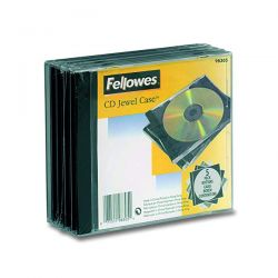 CUSTODIA CD FELLOWES JEWEL CASE CF.5