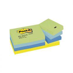 BLOCCO 3M POST-IT 38X50 NEON COLL. CF.12