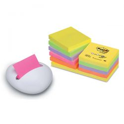 DISPENSER PER POST-IT Z-NOTE KARIM 3M + 12 POST-IT 76X76