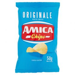 PATATINE BAR AMICA CHIPS GR.50