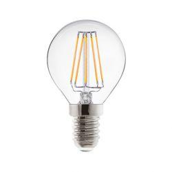 LAMPADA LED REER E14 4 WATT 400 LUMEN SFERRETTA VINTAGE LUCE CALDA