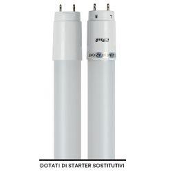 LAMPADA LED REER TUBO LED T8 G13 WATT18 LUMEN 2000 LUCE FREDDA