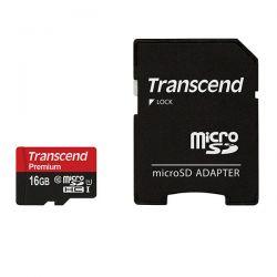 SCHEDA MEMORIA TRANSCENDSD 16GB TS16GUSD U1