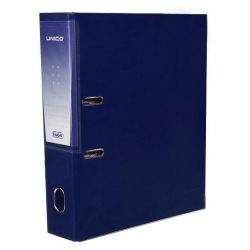 REGISTRATORE FAVORIT UNICO 35X28X8 SENZA  CUSTODIA BLU