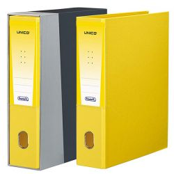 REGISTRATORE FAVORIT UNICO H 35X28X9,5 GIALLO
