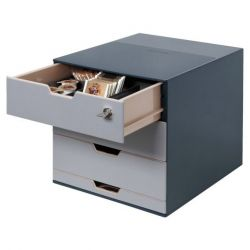 CASSETTIERA COFFEE POINT 280X292X356 MM. DURABLE ANTRACITE