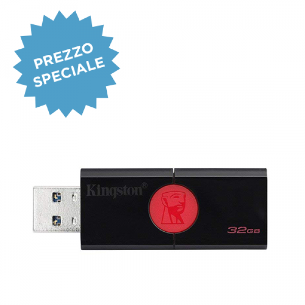 PEN DRIVE KINGSTON 32GB 3.0 DT106/32GB