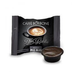 CAPSULE CAFFE' BORBONE DON CARLO MISCELA  NERA COMP. CON LAVAZZA A MODO MIO CF.50