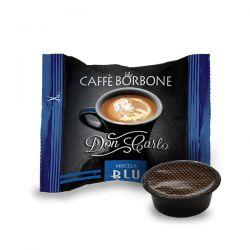 CAPSULE CAFFE' BORBONE DON CARLO MISCELA  BLU COMP. CON LAVAZZA A MODO MIO CF.50
