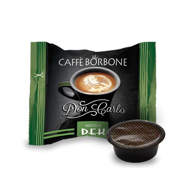 CAPSULE CAFFE' BORBONE DON CARLO MISCELA  DEK COMP. CON LAVAZZA A MODO MIO CF.50