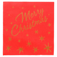 TOVAGLIOLI MERRY CHRISTMAS 40X40 MERRY CHRISTMAS CF. 50