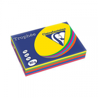 RISMA CLAIREFONTAINE TROPHE A4 G80 FF500  ASSORTITI FLUO