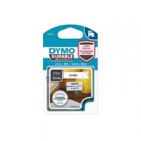 ETICHETTA DURABLE TIPO D1 DYMO MM12X5,5 NERO/BIANCO PERMANENTE