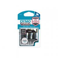ETICHETTA DURABLE TIPO D1 DYMO MM12X3 BIANCO/NERO PERMANENTE