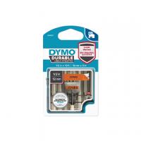 ETICHETTA DURABLE TIPO D1 DYMO MM12X3 NERO/ARANCIONE PERMANENTE