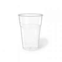 BICCHIERI PLAST.TRASP.PET 400/575CC CF50