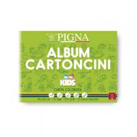 ALBUM DISEGNO PIGNA KIDS 24X33 COLORATI FF.10