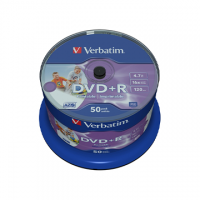 DVD+R VERBATIM STAMPABILI CAMPANA 50 PZ