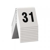 SEGNAPOSTO SECURIT PER NUMERAZIONE TAVOLI SET DA 31 A 40  CF.10
