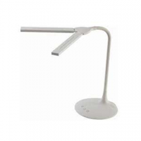LAMPADA  DA TAVOLO LED E USB TWIN BIANCA