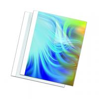 COPERTINA FELLOWES THERM A4 WHITE CRISTAL MM8   CF.100