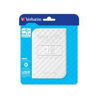 HD ESTERNO VERBATIM 2,5 1TB USB 3.0 BIANCO AUTOALIMENTATO 53206