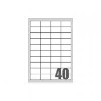 ETICHETTA TICO PRINT 48X25 CF.100