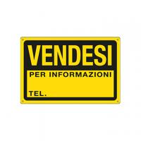 CARTELLO FLUO VENDESI 22X32