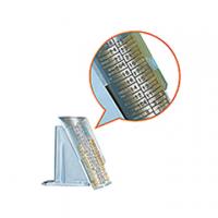 SET GRIGLIA ITERNET 8 VASCHETTE RACCOGLI MONETE A TUBO PER DIVIDIMONETE CM18