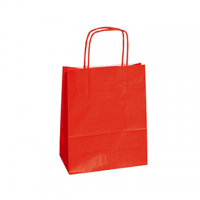 BORSE ST.TWISTED 22X10X29 ROSSO
