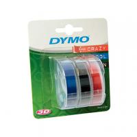 NASTRO DYMO MM9X3 MT BLISTER 3 ASSORTITO