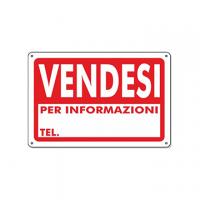 CARTELLO PVC 20X30 VENDESI