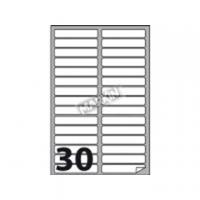 ETICHETTA ADESIVA MARKIN 100X17 X210A456