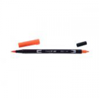 PENNARELLO TOMBOW DUAL BRUSH RED