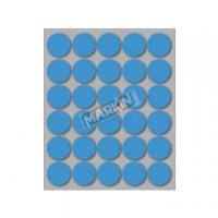 ETICHETTA ADESIVA MARKIN TONDA D.22 FF10 (300 ETICHETTE) AZZURRO
