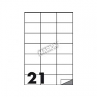 ETICHETTA ADESIVA MARKIN 70X42 CF.100