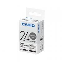 NASTRO CASIO KL 2/7000 MM24 NERO/BIANCO