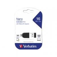 PEN DRIVE VERBATIM NANO USB 2.0 16GB 49821