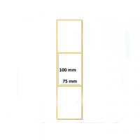 ETICHETTA TRASFERIMENTO TERMICO 100X75H CF.1500 D.I 75 PERMANENTE