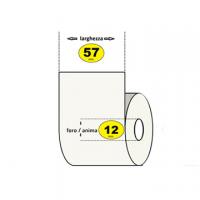 ROTOLO CALCOLATRICE ELETTRONICAMM57XMT28 D.ESTERNO MM50 FORO MM12 SEGNALE FINE R.