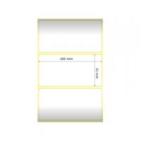 ETICHETTA ZEBRA 102X51 Z-ULTIMATE N.1370  CF.12 ROT PERMANENT 880261-050D