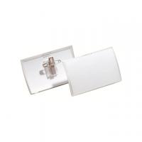 PORTANOME DURABLE CLICK FOLD SPILLA+CLIP 40X75 CON CARTONCINO CF.25