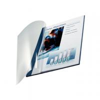 COPERTINA LEITZ TRASPARENTE IMPRESSBIND MM3,5 CF.10 BLU