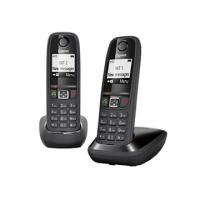 TELEFONO CORDLESS SIEM.GIGASET A405 NERO DUO L36852H2501K101