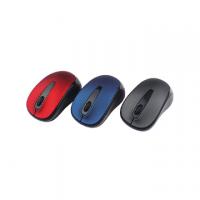 MOUSE MINI MEDIACOM AX877 - MOUSE -USB OTTICA - WIRELESS-GRIGIO, BLU, ROSSO
