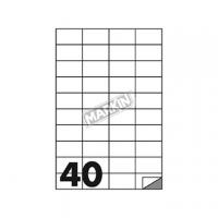 ETICHETTA ADESIVA MARKIN 52,5X29,7 BIANCO PERMANENTE CF100